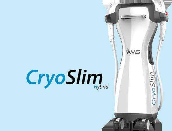 CryoSlim Hybrid, appareil dernière génération de cryolipolyse par AAMS